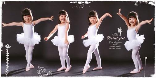 《芭蕾小天使》法式儿童相册设计