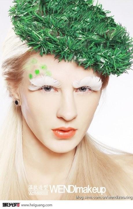 圣诞时尚彩妆大片《第三季》图片