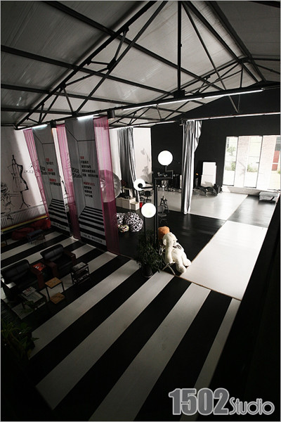 实景影棚_摄影工作室LOFT大观 创意回归空间设计(4)_装修·橱窗·设计_影楼 ...