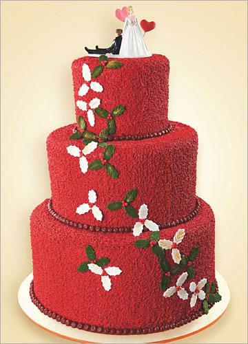 美丽冬日 华丽蛋糕的甜蜜婚礼诱惑
