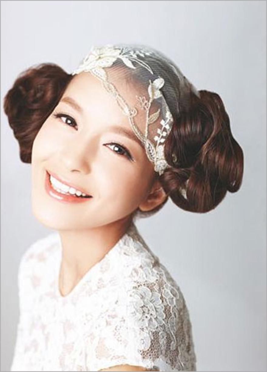 2012时尚新娘图片温婉a图片中性虏获众人短发齐耳发型发型气质女生图片
