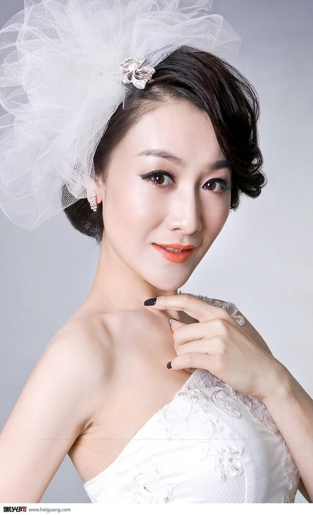 唯美新娘妆发型篇(8)_化妆造型_黑光图库_黑光网图片