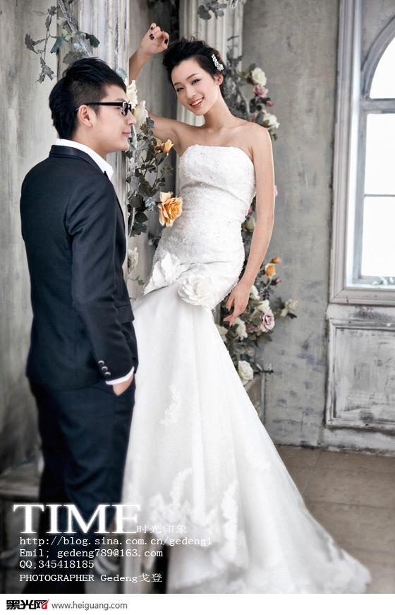 欧式浪漫 婚纱照