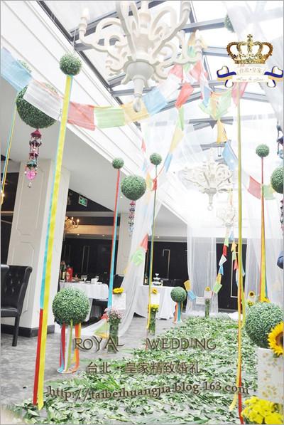 藏式风格的婚礼设计 婚礼跟拍