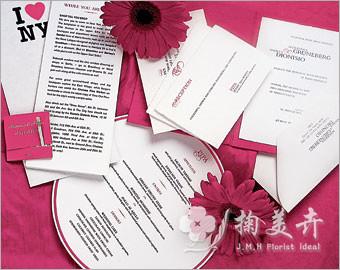 婚礼菜单设计 不能忽视的婚礼小细节