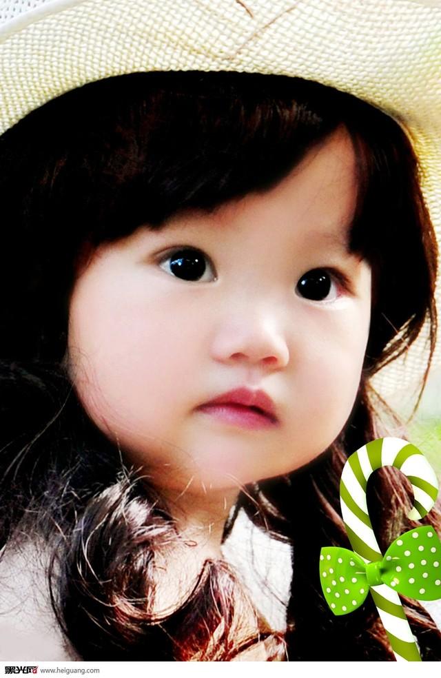 大眼睛儿童摄影