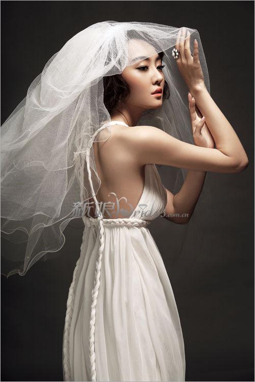 梦幻新娘头纱挑选全攻略 新娘造型图片