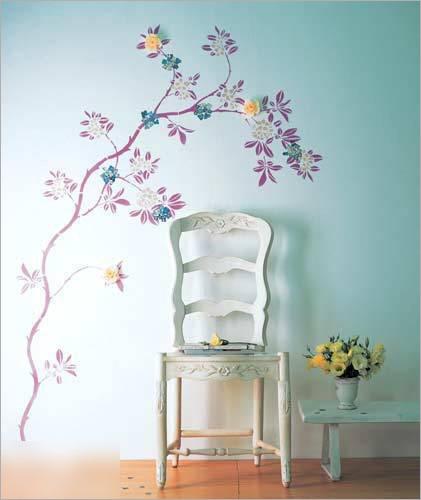 惊艳影楼实景手绘墙 体验墙面装饰新风尚
