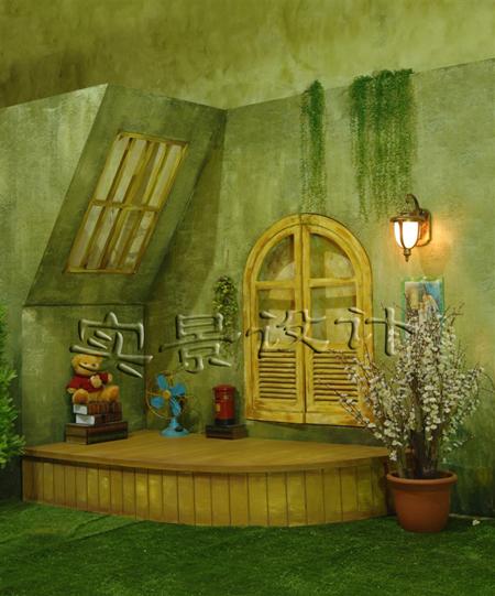 儿童影棚实景设计案例