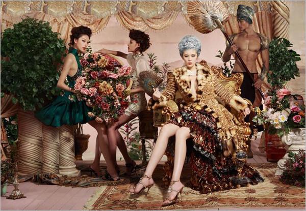 《男人装》时尚大片:复古罗马式性感(2)
