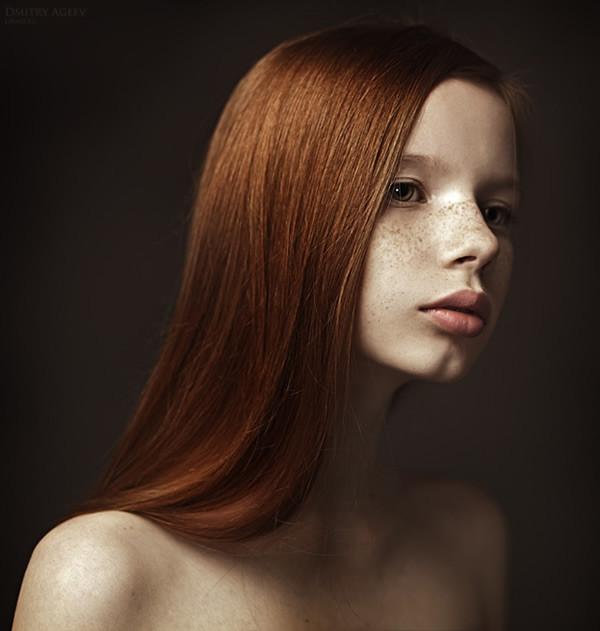俄罗斯摄影师:干净的女性肖像摄影