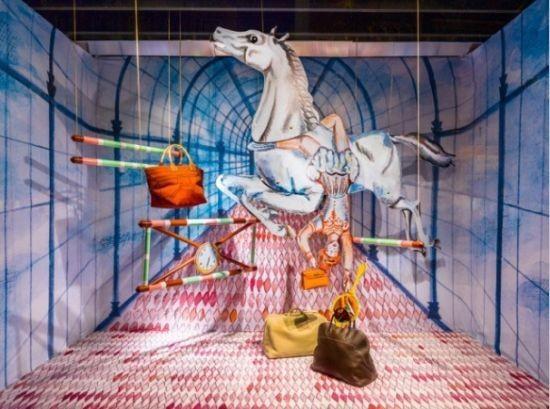 儿童节影楼橱窗设计 童话故事添乐趣