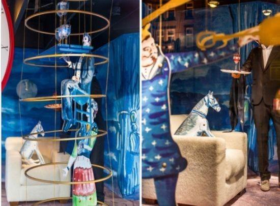 儿童节影楼橱窗设计 童话故事添乐趣(4)