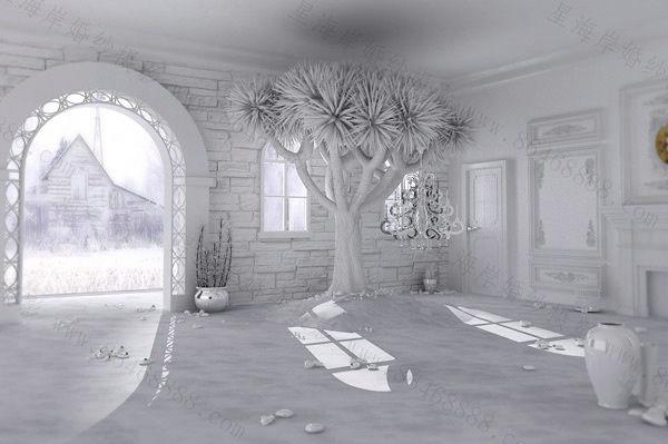 多款影棚实景欣赏,精雕细琢的完美呈现图片