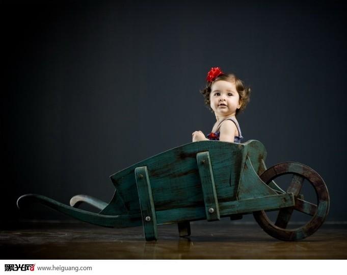 一周岁的triana 儿童摄影