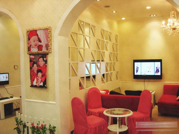 新星婚纱影楼及儿童店装修设计效果实图展示高清图片