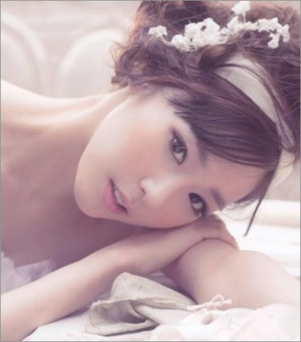 新娘妆造型 甜美韩式新娘妆