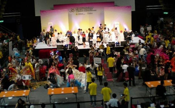 亚洲化妆学校受邀参加武汉风景大赛化妆视频顶级片图片