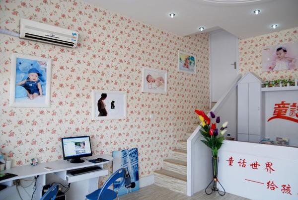 童话世界儿童影楼装修设计店内装修展示效果(一)