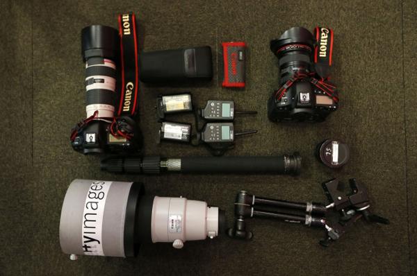 看摄影师用什么器材记录奥运