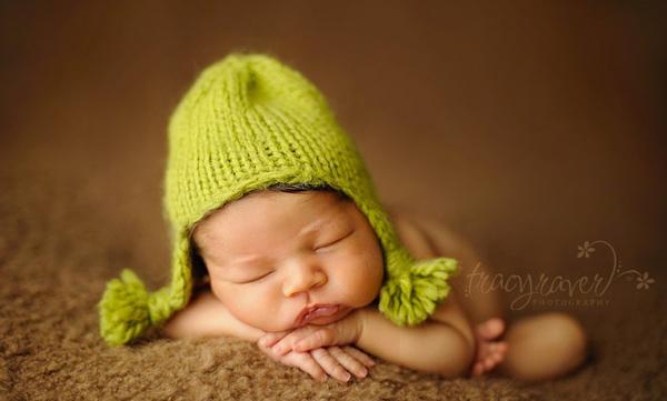 超美婴儿摄影作品:睡梦中的可爱天使