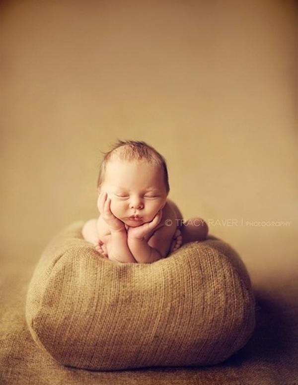 超美婴儿摄影作品:睡梦中的可爱天使(二)