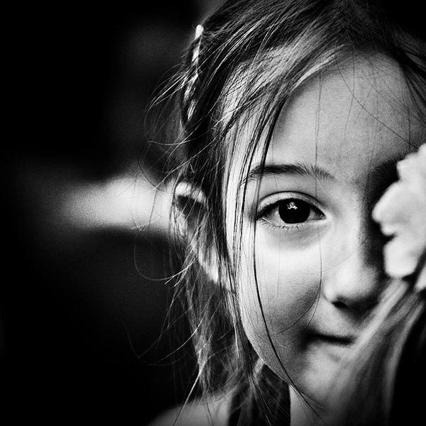 令人赞叹的黑白摄影作品 儿童摄影