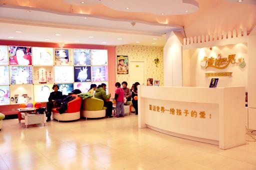 童话世界儿童影楼装修设计店内装修展示效果(二)