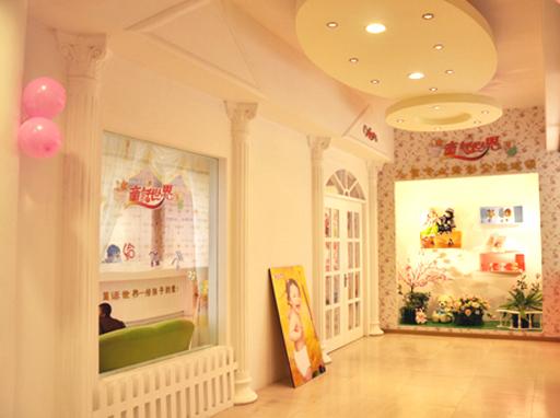 童話世界兒童影樓裝修設計店內裝修展示效果(二)