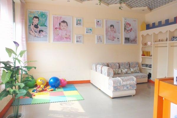 童话世界儿童影楼装修设计店内装修展示效果(三)
