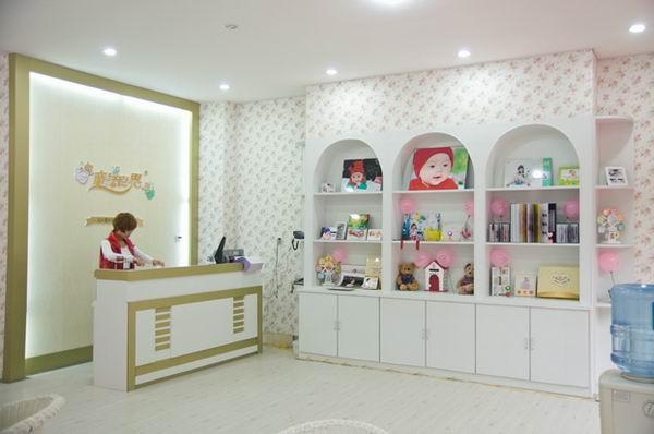 童話世界兒童影樓裝修設計店內裝修展示效果(四)