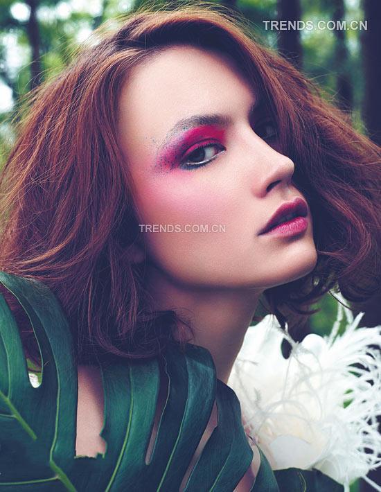 绿野仙踪 森林系新娘美妆图片