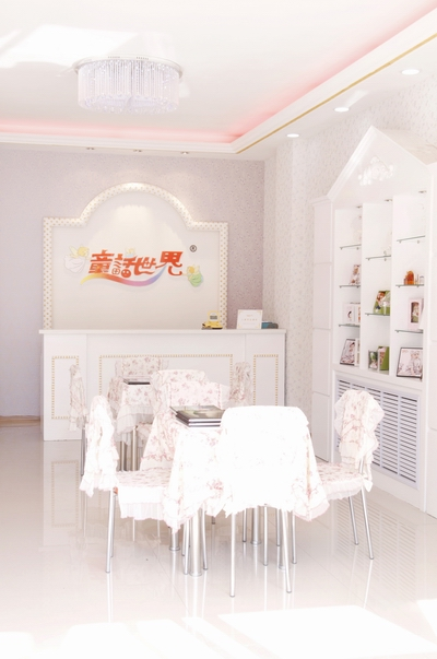 童話世界兒童影樓裝修設計店內裝修展示效果(五)