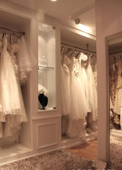 圣梦幻婚纱影楼店面形象设计:洁静的优雅空间(6)