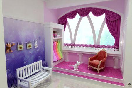 多款儿童实景影棚设计欣赏--梦幻小屋