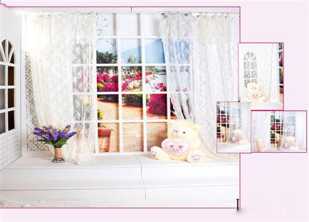 影楼管理 实景·道具·家具 多款儿童实景影棚设计欣赏--梦幻小屋