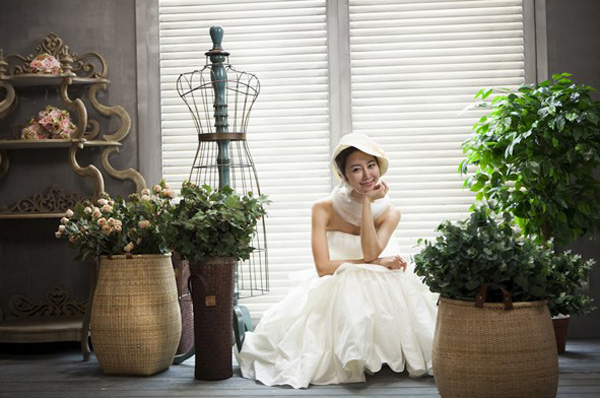 韩式实景影棚设计欣赏 柔美的色彩绽放图片
