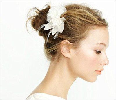 技巧打造 秋季绝美新娘发型(4)
