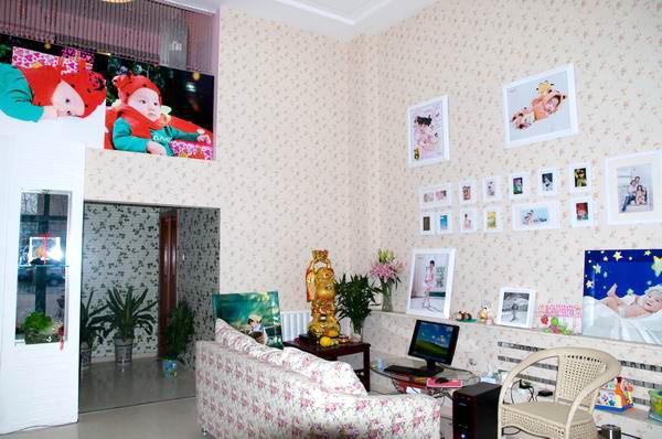童話世界兒童影樓裝修設計店內裝修展示效果(六)