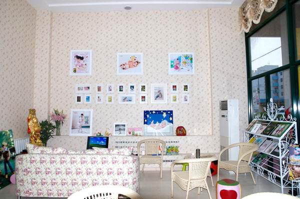 童话世界儿童影楼装修设计店内装修展示效果(六)