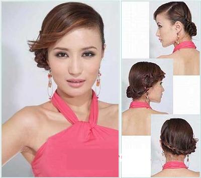 韩式新娘发型图解打造唯美造型