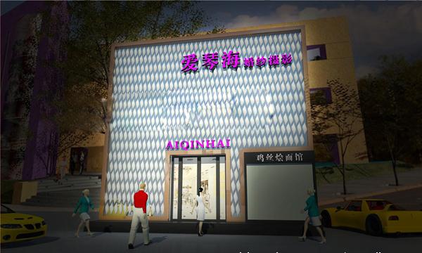 2012婚纱影楼店面形象装修设计作品欣赏(4)