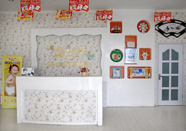 童话世界儿童影楼装修设计店内装修展示效果(七)