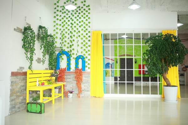 精致与简洁的装修设计--湖塘店金宝贝儿童摄影
