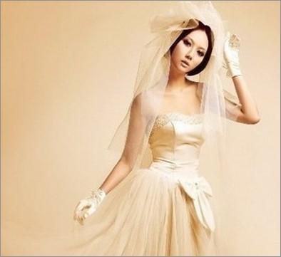韩式短发新娘发型 打造清纯美人(3)
