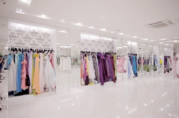 都市丽人婚纱摄影,华美时尚的影楼装修