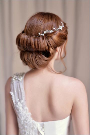 新娘百搭发型 打造完美新娘造型
