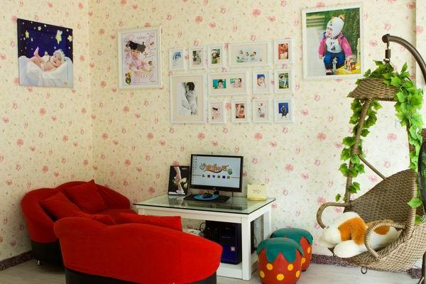 童话世界儿童影楼装修设计店内装修展示效果(八)