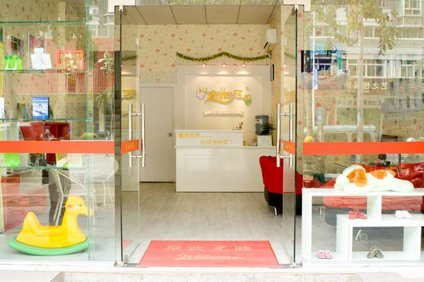 童话世界儿童影楼装修设计店内装修展示效果 八