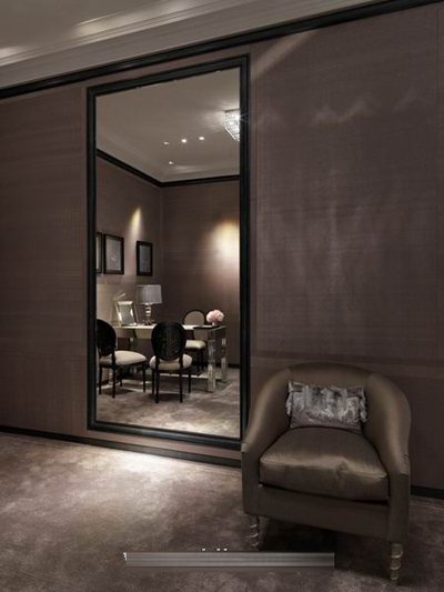 中性色调,商业与艺术结合dior台北101店面装修设计